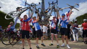 London to Paris Bike Ride for Mid Cheshire Hospitals Charity