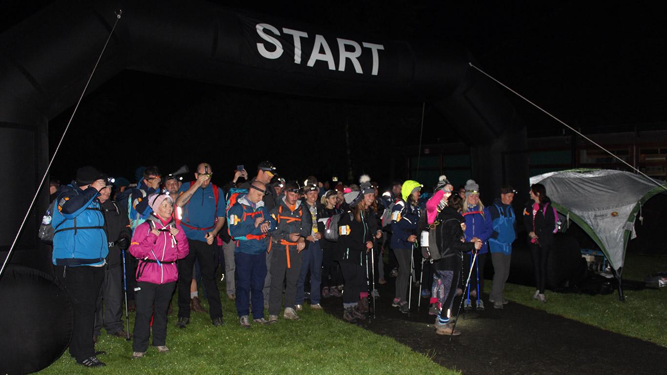 Snowdon Night Trek for Mid Cheshire Hospitals Charity